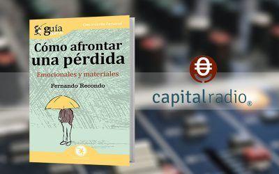 Fernando Recondo con su «GuíaBurros: Cómo afrontar una pérdida» en 'Franquicia2', programa de Capital Radio