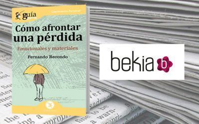 El portal web de información Bekia.es ha reseñado este libro para aprender a superar un duelo
